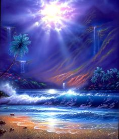 We can bathe the oceans and waterways with the Violet Flame to cleanse and purify the waters - You can do this now and to make it even more potent you can have a remote Violet Flame attunement.