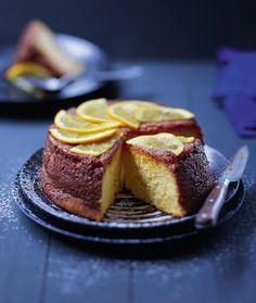 Gâteau léger à l'orange Orange Recipes, 20 Min, Kitchen Recipes, Flan, Quiche, Food To Make, French Toast, Muffins, Cheesecake