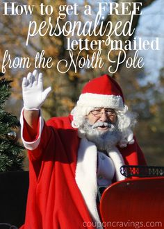 Send your kids a letter from Santa - COMPLETELY free! I'll show you the four simple steps to make sure they get a letter postmarked from the North Pole this year.