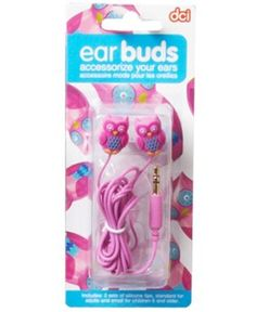 Amazon.com: Hoot Owl Earbuds Head Phones -Pumpkin: Electronics