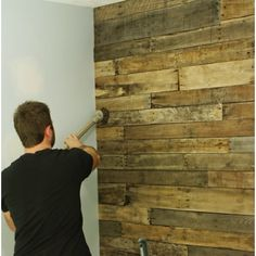 Timber slat wall feature