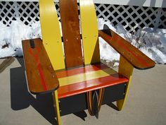 junkbonanza: Vendor Profile: Vintage Water Ski Chairs!