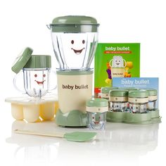 Baby Bullet Baby Food System with Cookbook and Nutrition Guide Baby Food Makers, Making Baby Food, Baby Bullet Recipes, Baby Food Recipes, Food Baby, Baby Snacks, Jelly Recipes, Nutribullet, Cool Mom Picks