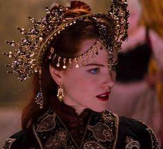 "mademoisellelapiquante:  ""Nicole Kidman as Satine in Moulin Rouge - 2001  """