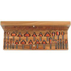 Set 26 frese #Setfrese #setfrese #fresa #cmt #lavorazionelegno #lavorarelegno #wood #hobbylegno #utensililegno #attrezzilegno #attrezzifalegnami #utensilifalegnami