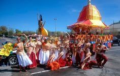 Dandavats | 6th Annual Clearwater Beach Festival of Chariots & Rath Yatra Parade