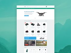 This freebie is a sample of Zelvit, a bright ui kit. This resource contains 2 psds, an online store, and a 404 website template. The design is elegant and simple with a clean ui and layout. All elements fit each other perfectly. The layers are also well organised and named. Many thanks to Vitaly Zelenin for releasing this resource.