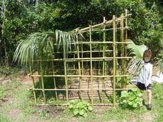 how to build a bamboo fort