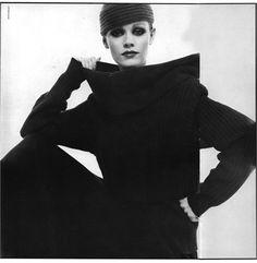 Vogue Italia, October 1978  Walter Albini total look   Photo by David Bailey