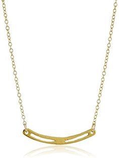 Gorjana Taner Split Long Necklace in Metallic Gold akO1W2o62q