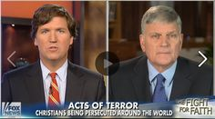 Franklin Graham says persecution of Christians is coming.