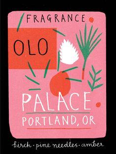 Palace Perfume - Louise Lockhart | Illustration | Design | The Printed Peanut
