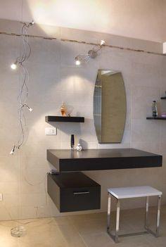 abitazione privata illuminazione bagno ligting design