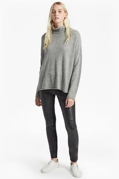 Bea Cashmere High Neck Jumper | Sweaters Sweats | French Connection Usa