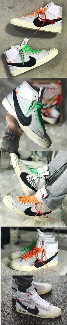 Nike Blazers x Off-White.