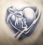 heart tattoo practice by *WillemXSM on deviantART