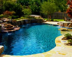 Having a pool sounds awesome especially if you are working with the best backyard pool landscaping ideas there is. How you design a proper backyard with a pool matters. Swimming Pool Landscaping, Luxury Swimming Pools, Natural Swimming Pools, Dream Pools, Landscaping Ideas, Natural Pools, Backyard Pool Designs, Pool Backyard, Backyard Ideas