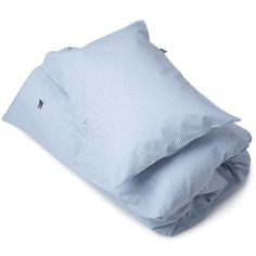 Yard dyed 100% cotton blue and white children's duvet cover