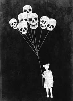 Skulls in the air
