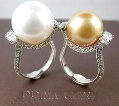 regram @mew_primagems Natural Golden & White South Sea Pearl Ring Collection #มุก South Sea สีทองคำ และขาวมุกอมชมพู เป็นแหวนสไตล์ที่สามารถได้ทุกๆโอกาสครับ ✨💍✨ #Natural #Pearl #Golden #White #Diamonds #Oval #Marquise #Collection #Color #White #Design #Sport #Fashion #Beautiful #Wonderful #Colorful #Lady #Luxurious #Style #PrimaGems #Thailand #Finejewelry #TheEmporium #SiamParagon #PrimaGemsOfficial  #javahergardi ✨💎✨💎✨💎✨💎✨