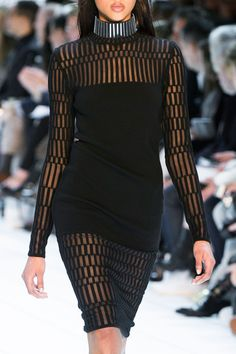 Thierry Mugler at Paris Fashion Week Fall 2015.