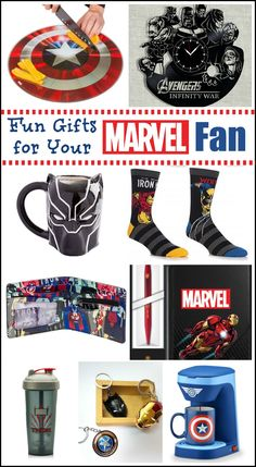 Fun Gifts for your Marvel Fan bfgifts Gifts For Your Mom, All Gifts, Geek Gifts, Couple Gifts, Marvel Gifts, Superhero Gifts, Thoughtful Gifts For Him, Romantic Gifts For Him, Friend Birthday