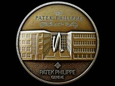"Patek Philippe Geneve commemorative medal coin unframed print. Photograph shows the front side. Price starts at $26 (Petite 8"" x 10"")."