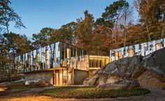 Pound Ridge House in New York, USA designed by KieranTimberlake Photo © Peter Aaron/Esto