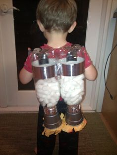 Jet pack for the little ones. Pretty spectacular! Follow the link for directions.