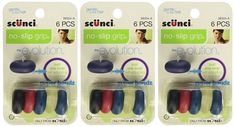 Scunci The Evolution No Slip Grip Super Bandz Hair Ties EACH (Pack of 3) ** Click image to review more details. #hairdresser