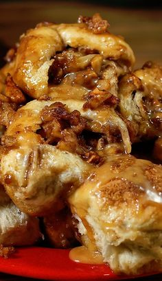 Crazy caramel apple pie bombs. Every year on the day after Thanksgiving we head over to my mother-in-laws house to make these fantastic dinner pastries called fataya. It is a family tradition.
