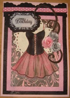 Kanban dress version 2 by charlie horse - Cards and Paper Crafts at Splitcoaststampers