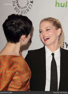 "Ginnifer Goodwin and Jennifer Morrison - PaleyFest 2012 Presents ""Once Upon A Time"" - Arrivals"