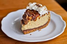 Caramel Toffee Crunch Cheesecake http://www.yummly.com/blog/2012/07/10-incredible-recipes-for-national-cheesecake-day/