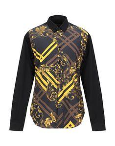Versace Jeans Men Shirt on YOOX. The best online selection of Versace Jeans. Versace Jeans Shirt, Versace Shirts, Versace Jeans Couture, Basket Ball, Tag Heuer, Sportswear Brand, Printed Shirts, Long Sleeve, Sleeves