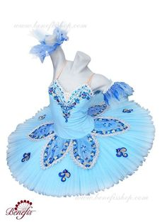 """Details: costume, arm ruffles. It is a professional stage costume in the fairy-tale style, which is carried out on the basis of the professional basic tutu #T0001 (see section """"Basic tutus""""). The bodi"""
