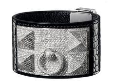 Hermès Collier de Chien In Alligator, White Gold And Diamonds