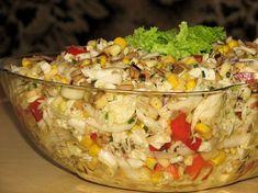 Słonecznikowa sałatka do grilla Tasty, Yummy Food, Polish Recipes, Polish Food, Fried Rice, Salad Recipes, Grilling, Food And Drink, Lunch