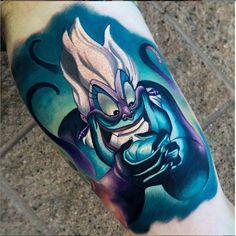 Disney Villain Tattoos   Inked Magazine