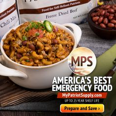 The original experts in emergency preparedness with food storage kits, survival supplies, water filtration units, medical items, and heirloom seed products. Emergency Preparedness Gear, Best Emergency Food, Emergency Food Storage, My Patriot Supply, Recent Earthquakes, Prime Day Deals, Survival Supplies, Freeze Drying, Special Deals