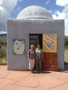 Lori with Zelda Hotaling from Lake George, NY visiting a dear friend in Abiquiú.
