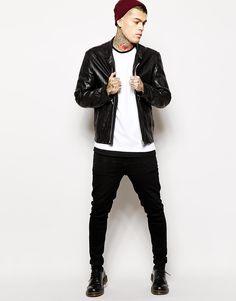 Image 4 ofReligion Leather Jacket