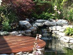 Gartenteich mit Bachlauf im Kleingarten anlegen
