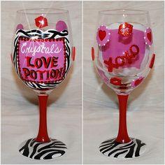 Love Potion Glass