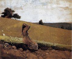Winslow Homer Watercolors   Everlasting Moment ! :: Winslow Homer Watercolors