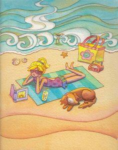 Libri in spiaggia