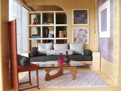 mini modern - INCREDIBLE miniature home enthusiast blog