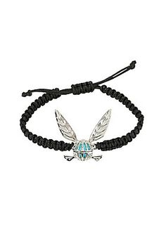 <p>Let Navi be your guide in the game of life as you wear her proudly on your wrist with this cord bracelet from <i>The Legend of Zelda. </i></p>  <ul> <li>Adjustable</li> <li>Alloy; cord</li> <li>Imported</li> </ul>