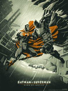 Batman vs. Superman: Dawn of Justice // artwork by Coke Navarro (2016)