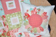 Dresden pillow from Clover & Violet